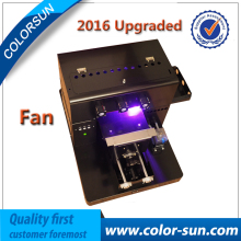 2017 new Best quality A4 UV flatbed Printer for golf phone case ceramics printing