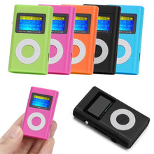 Newest Best Price Fashion Running USB Mini MP3 Player LCD Screen Support 32GB Micro SD TF Card  With Free Shipping H3T29