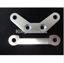 King Motor Front Hinge Pin Supports, Braces (2) Fits HPI Baja 5B 2.0 SS 5T Buggy