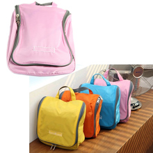 Travel Cycling Bag Womens Hanging Hook Toiletry Wash Shower Bag Organizer Kit