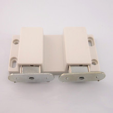 Magnetic door glass door magnetic door switch cabinet door with suction. Double magnet(China)