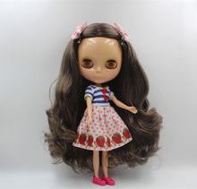 Free Shipping Top discount 4 COLORS BIG EYES DIY Nude Blyth Doll item NO. 400 Doll limited gift special price cheap offer toy(China)