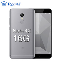 "Original Xiaomi mobile phone Redmi Note 4X 16GB 5.5"" Snapdragon 625 MIUI 8  1080P Fingerprint ID 4G FDD LTE google play 4100mAh"