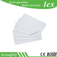 100pcs 13.56mhz rewritable 1k ic white card,compatible s50 card with chinese chip,rfid blank chip cards membership 1k storage