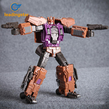 LeadingStar 5 in 1 Alloy Deformation Robot Model Manual Operated Puzzle Educational Toy Christmas Gifts for Boys zk30(China)