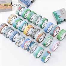 1.5 cm Wide 7m Length Washi Tapes DIY Twenty four festivals paper Masking tape Decorative Adhesive Tapes Scrapbooking Stickers(China)