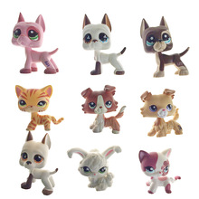 11Types 5cm Lovely Genuine Pet Collection Action Figure Original LPS Many  Pet Shop Cats Dogs Kids Gifts With Opp Bag