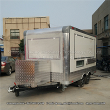 China factory commercial concession fast food trailer mobile food truck FV-210R(China)