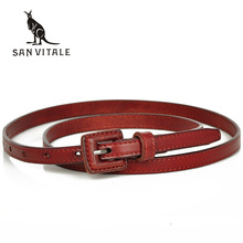 New Women Fashion Belts with Genuine Leather Belt Buckle Waistband Luxury Jeans Dress Female High Quality Straps Ceinture Femme