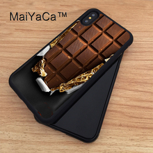 "MaiYaCa Opened Half Chocolate Bar Full Protective Case for iPhone X TPU & PC Back Cover For Apple iPhone X Case New 5.8""(China)"