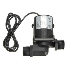 Brand New DC 12V 1000L/H Electric/Solar Brushless Motor Water Pump Aquarium Fountain