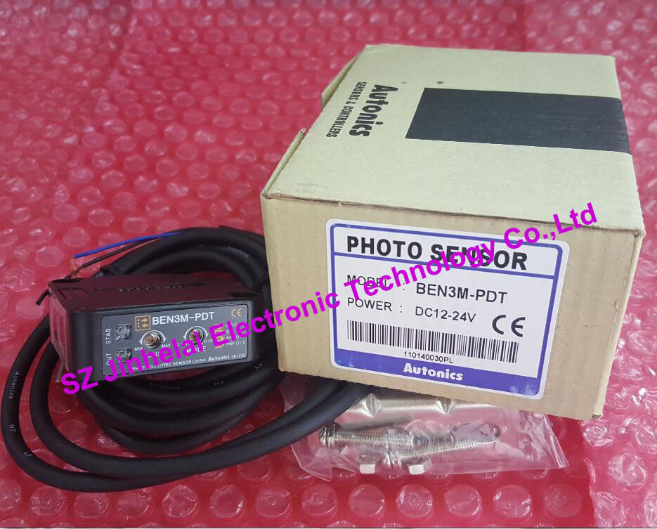 BEN3M-PDT   New and original  AUTONICS  PHOTO SENSOR   12-24VDC<br>
