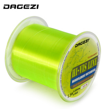 DAGEZI New 500M HI-VIS Monofilament Fishing Line 5-30LB test Professional fishing lines for carp fishing