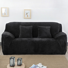 sofa cover stretch elastic furniture armchair L shaped sofa cover universal tension fabric couch cover stretch corner sofa case(China)