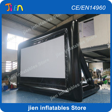 free shipping!air tight 4:3 or 16:9 giant inflatable movie screen,Outdoor Inflatable Screen,inflatable projector screen(China)