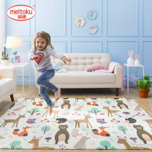 Game-Blanket Play-Mat Crawling-Pad Baby-Carpet Puzzle Children's-Mat Foldable Climbing
