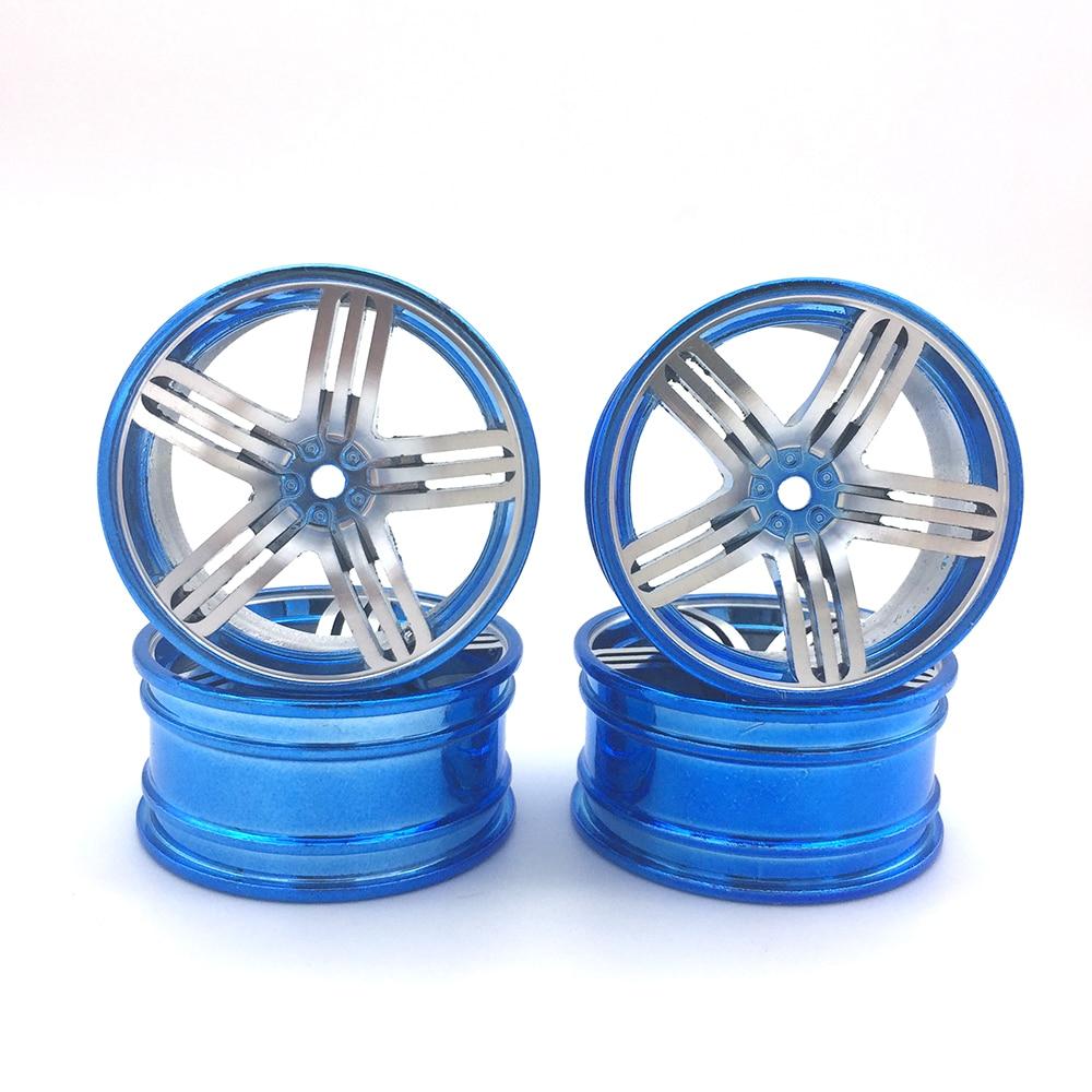 4Pcs Aluminum Alloy 52*26mm Tire Hub Wheel Rim for 1/10 RC On Road Run-flat Car HSP HPI Traxxas Tamiya Kyosho 1:10 Drift Parts<br><br>Aliexpress