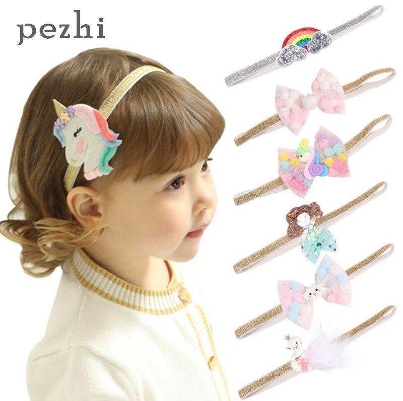 5pcs JOJO SIWA Headband Set Stretch Elastic Hair Tie Heart Clips Bracelet Bow