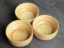 2017 natural wooden bowl japanese wooden bamboo bowls for food for Baby 10*6cm(China)