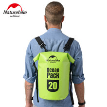 Naturehike Ocean pack 20L 30L Waterproof bag Portable Backpack For Camping Canyoneering Swimming Travel FS16M030-L(China)