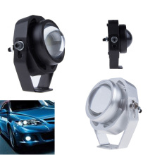 2Pcs Waterproof Car DRL LED Eagle Eye Light 10W Warm / Cool White Car Fog Daytime Running Light Reverse Backup Parking Lamp