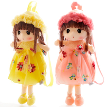 candice guo! super cute plush toy bag Mayfair girl floral fairy spring flower dress doll backpack birthday gift 1pc
