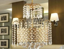FREE SHIPPING PENDANT lamps European crystal droplight sitting lighting lamps and lanterns PENDANT LIGHTS ZZP11(China)