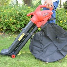 Telescopic tube powerful 2800w electric leaf stone blower vacuum,garden home use,hand push electric blower(China)