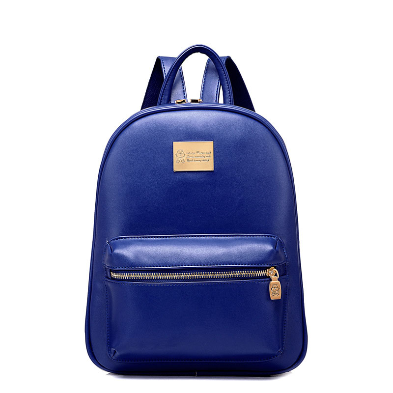 Women Backpack Genuine Leather Teenage Girls College Genuine Leather Female Backpack Women Schoolbag For Girls BP0127<br>