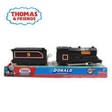 Y3779 Electric train Thomas and friends Donald train Trackmaster engine toy plastic material kids toy pack