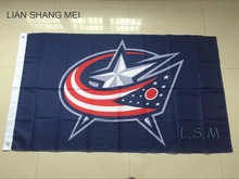 Columbus Blue Jackets Flag NHL National Hockey League 3ft x 5ft Polyester Banner Flying 150* 90cm Custom flag sport
