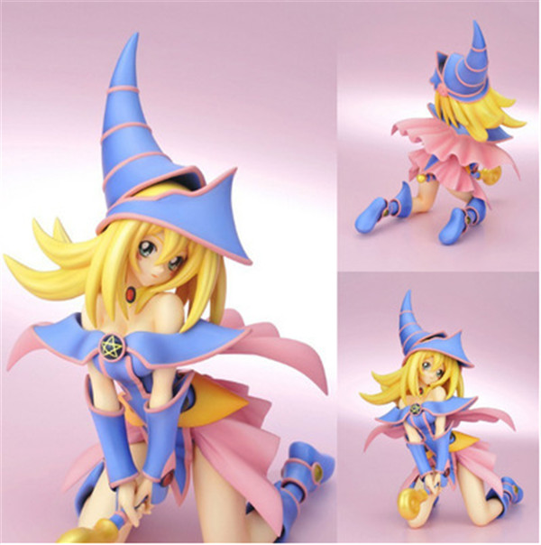 Anime Yu-Gi-Oh Figuras 7/18cm Yu Gi Oh Duel Monster Dark Magician Girl PVC Action Figure Model Collection Toys Dolls Gift <br><br>Aliexpress