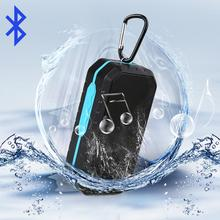 Waterproof bluetooth Speaker with TF USB Function FM Radio Shower speaker sound boombox speaker system For hiking bike