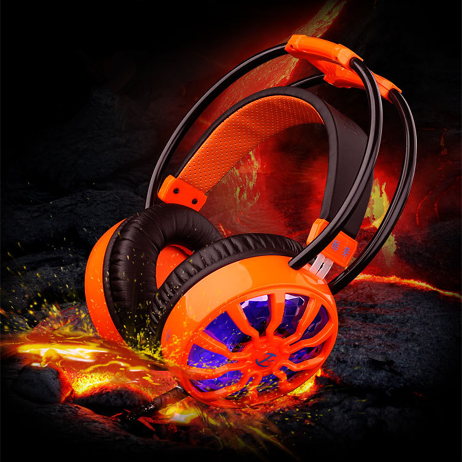 HIFI Gaming Headphone LED Light 3D 7.1 Sound 3.0 USB Computer Stereo Game Headset with Microphone Wired Headphones For PC Gamers<br>