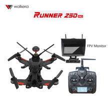 Walkera Runner 250 PRO GPS FPV RC Drone with DEVO 7  5.8G Monitor  800TVL Camera  OSD Version