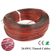 10m 26AWG led cables 2pin Tinned copper (UL2468) extension cable For LED Strip extend,PVC insulated Electrical wire free shiping(China)