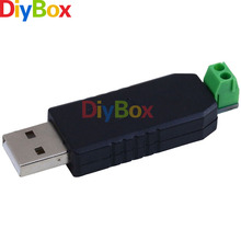 5PCS USB to RS485 USB-485 Converter Adapter Support Win7 XP Vista Linux Mac OS(China)