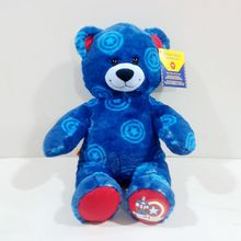 Hot Sale Original Special Captain America Blue Bear Cute Soft Stuff Plush Toy Children Birthday Gift