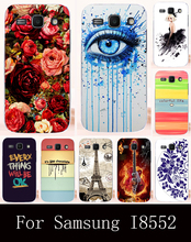 Cell Phone Cases for Samsung Galaxy Win I8552 Case GT-i8552 GT i8550 i8558 8552 Plastic Soft TPU Silicone Back Cover Shell Hood