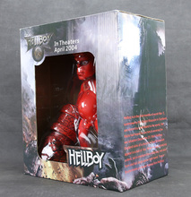 New Special Version 10 inch Hellboy Long Hair Action Figure From Classic Comic Animation