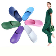 Medical Doctors Nurses Surgical Shoes Anti-slip Protective Shoes Operating Room Lab Slippers Work Flat Shoes(China)