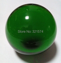 Free Shipping DHL Wholesale hot sale Huge Asian Quartz  crystal colorful  ball sphere eight colors 30mm