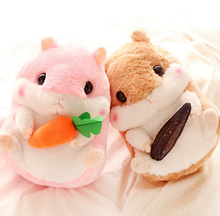 1Pcs/set Kawaii 32cm Japan fat hamster plush toy doll cute hamster stuffed animal childrens' day gift