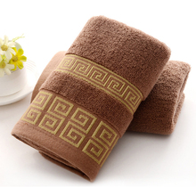 New Arrival Soft 100% Cotton Absorbent Hand Towels Terry Luxury Hand Bath Beach Face Sheet Towel For Home Tools(China)