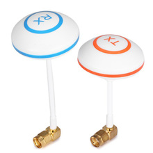 New FPV 5.8 GHz Antenna Remote Control Drone Aparts Clover Leaf Mushroom Aerial Set with L Style RP-SMA Plug for RC Helicopter(China)