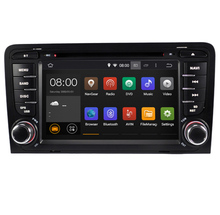 Android 7.1 Quad Core 7 Inch In Dash Car DVD Player For Audi A3 2002-2011 With Canbus Wifi GPS Navigation BT Radio Free Map