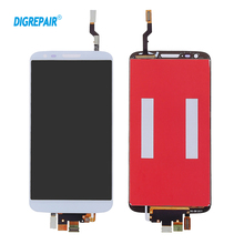 100% Tested Black White For LG Optimus G2 VS980 Verizon LCD Display Touch Screen Digitizer Full Assembly Cellphone Repair Parts