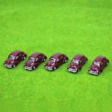 5PCS model Classic Cars 1:100 TT HO Scale for Building Railway Train Scenery NEW C10012  railway modeling