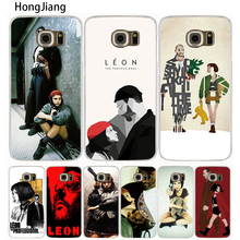 HongJiang Leon the professional cell phone case cover for Samsung Galaxy S7 edge PLUS S8 S6 S5 S4 S3 MINI(China)