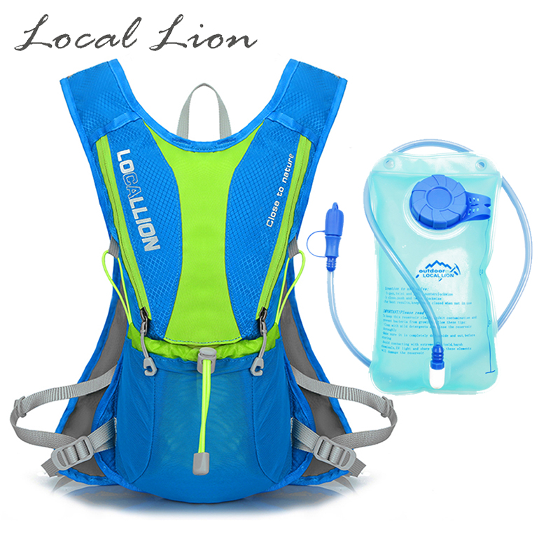 LOCAL LION 5L Cycling Backpacks Hydration Backpack with 1L Water Bladder Bag Lightweight Outdoor Sports Hiking Backpack HT531<br><br>Aliexpress